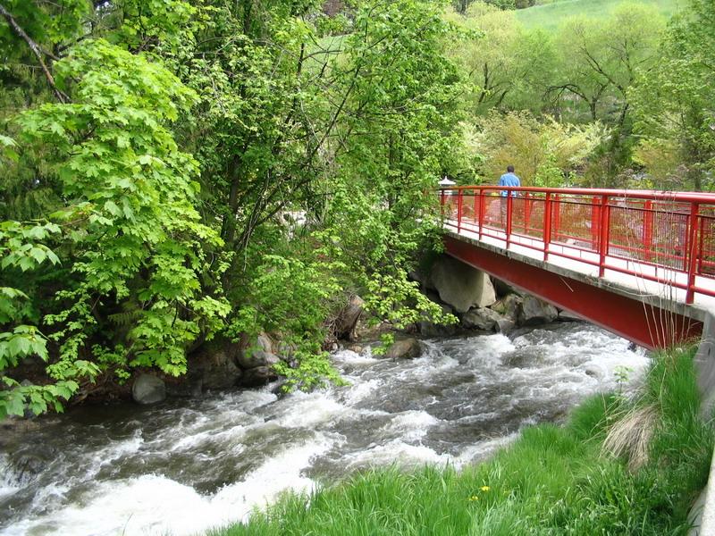 Bridge close to cottonwood Falls, Nelson BC