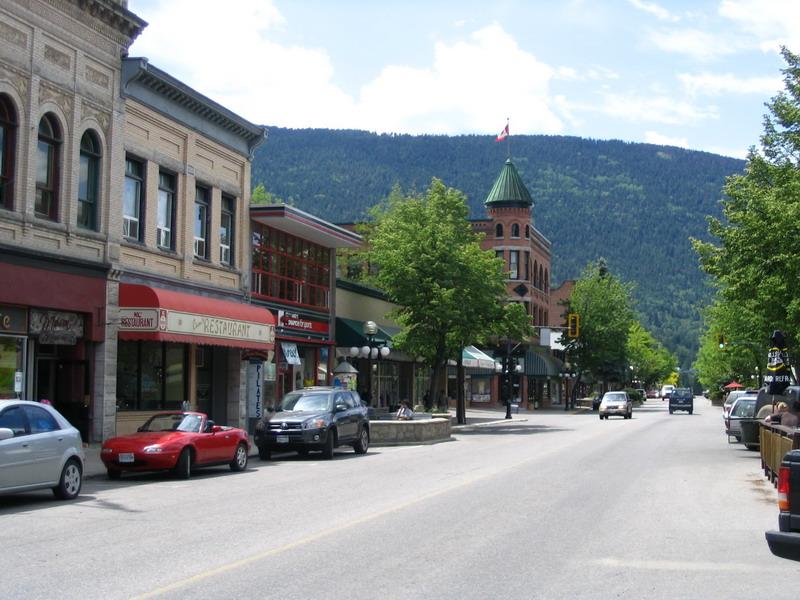 Baker Street, Downtown Nelson BC