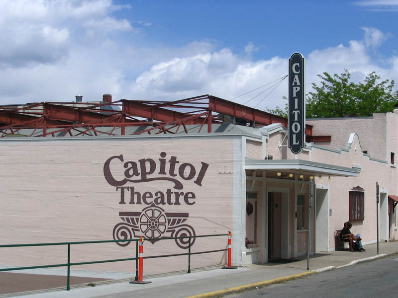 Capitol Theatre, downtown Nelson BC