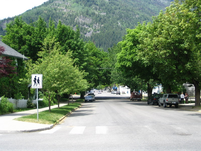 Stanley Street, Nelson BC