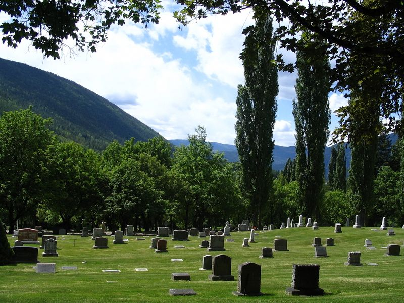 Nelson BC Cemetery